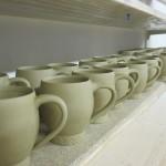 gedrehte Tassen