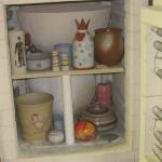 Ofen mit Keramik